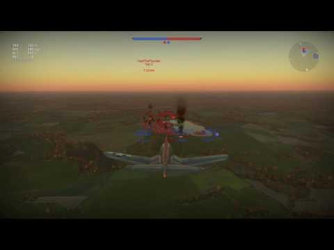 War Thunder: Hvar Rockets & Plane Headshot