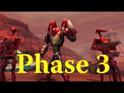 Star Wars: Galaxy Of Heroes - Phase 3 AAT Tank Takedown Guild Raid