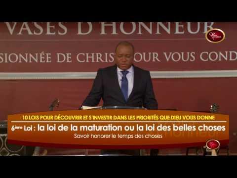 [Dim 07 08 2016] Pasteur Mohammed SANOGO - Loi 6 : la maturation
