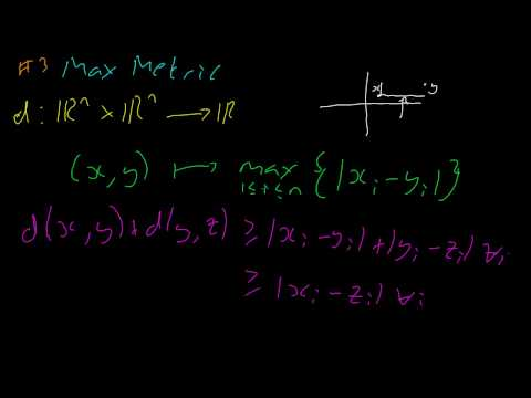 Topology #3 Metric Examples (Part 2)
