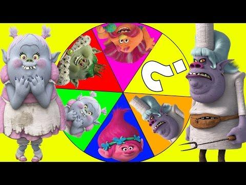 Trolls Movie Bergen Chef and Bridget Play the Bergen Spin the Wheel Game  Part 10 | Ellie Sparkles