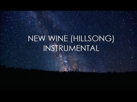 NEW WINE  Hillsong Instrumental With Lyrics  There Is More