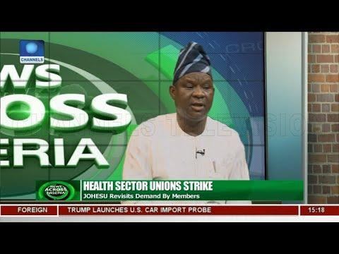 JOHESU Revisits Demand By Members | News Across Nigeria |