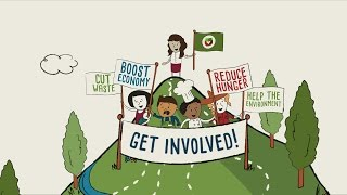 ReFED's Roadmap to Reduce U.S. Food Waste by 20% (Animated Explainer Video)
