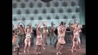 LEGALLY BLONDE rehearsal at University of Montana -- Choreographer Pamyla Stiehl