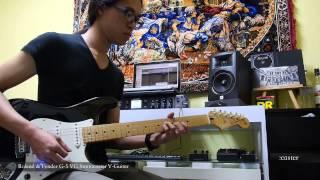 脈動樂團空間 roland fender g 5 vg stratocaster test video
