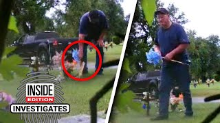 Download Who's Stealing Mementos From Little Boy's Grave? Mp3 and Videos