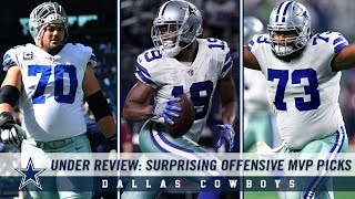 Under Review: Surprising Offensive MVP Picks | Dallas Cowboys 2018-2019