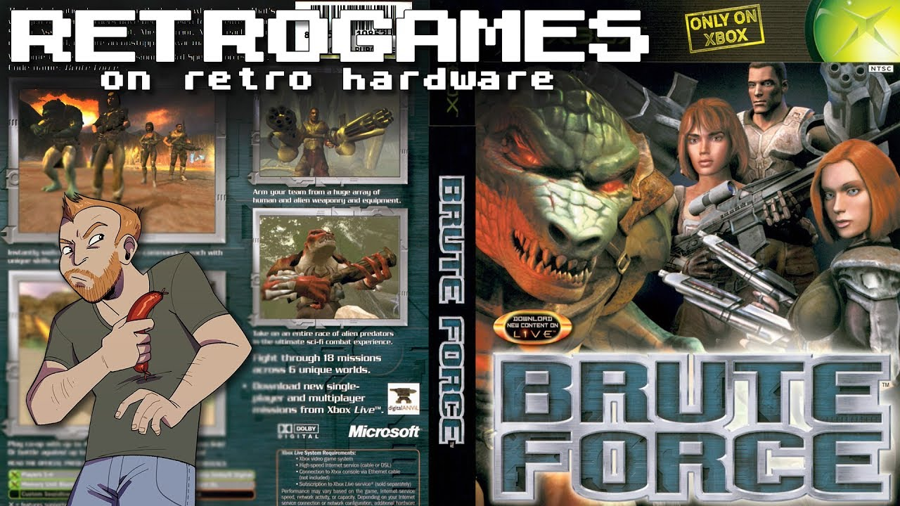Let's Play Brute Force on original XBOX - Live Brute Force OG XBOX gameplay!