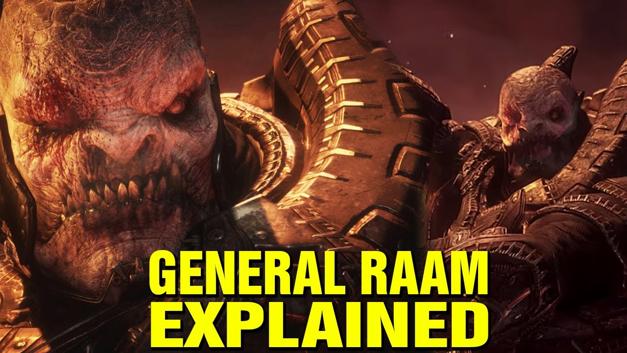 WHO IS GENERAL RAAM? STORY EXPLAINED - GEARS OF WAR LORE