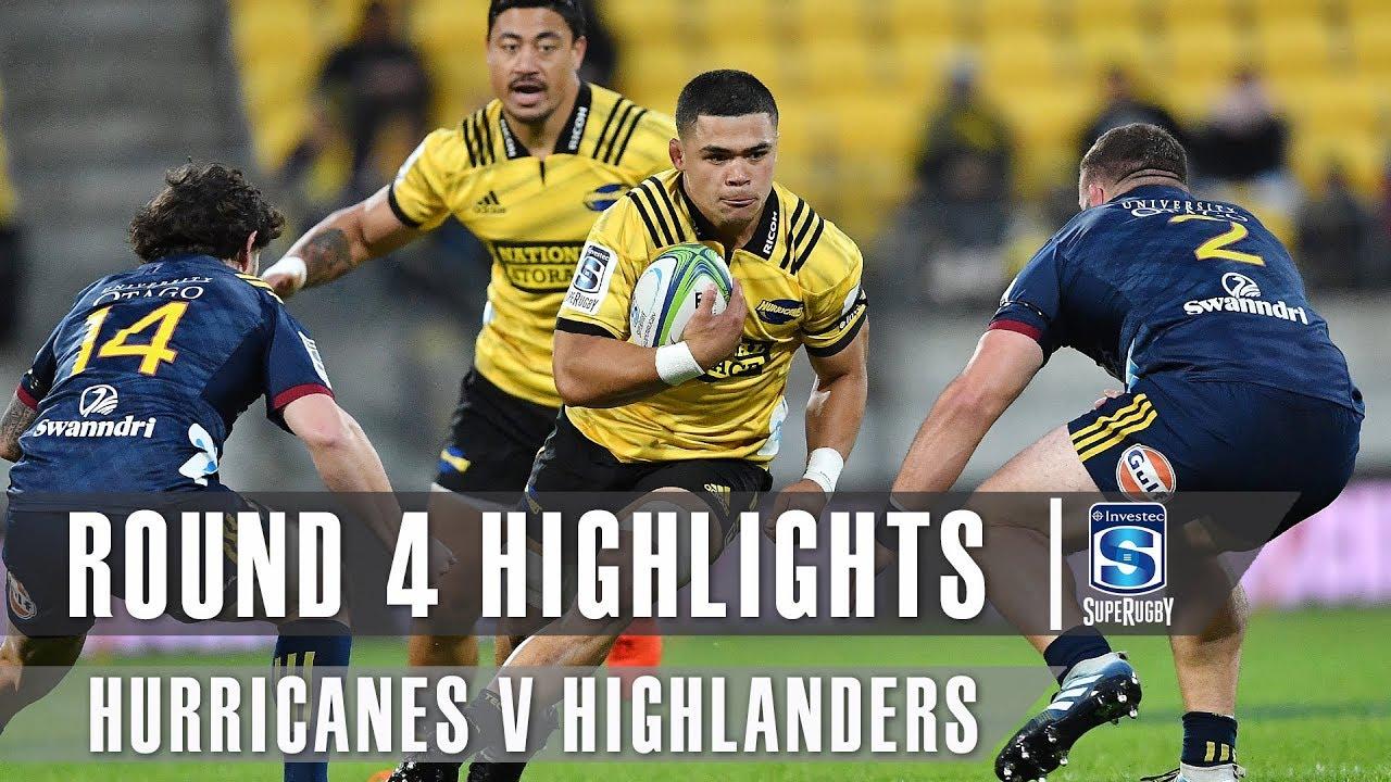 ROUND 4 HIGHLIGHTS: Hurricanes v Highlanders - 2019