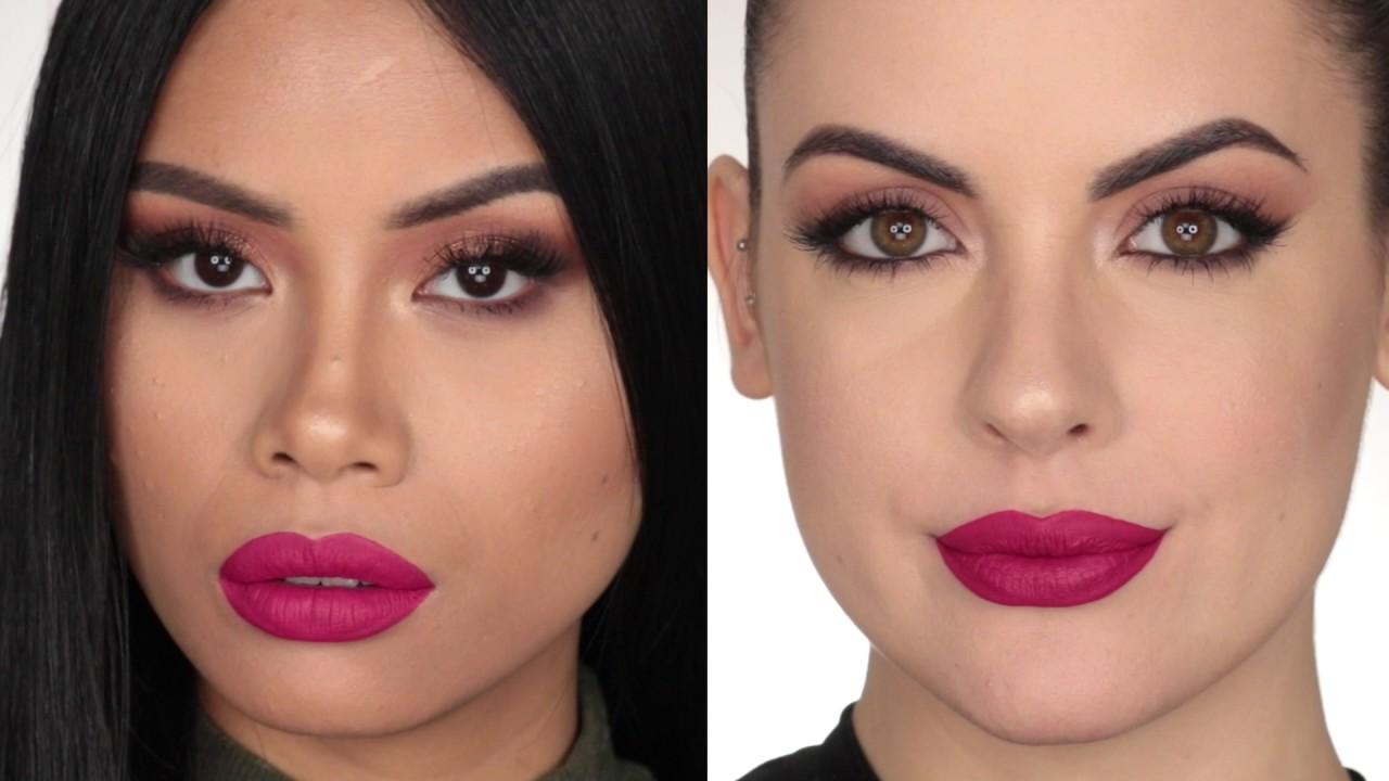 Nabla Five Oclock Lip Swatch Dreamy Matte Liquid Lipstick Youtube
