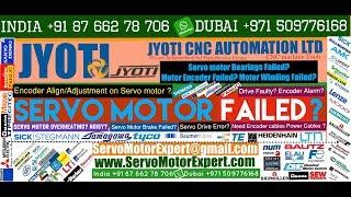 Jyoti Machine CNC Servo Motor Repair, Servo Drive Stock, Sinumerik Controller Spare,Simodrive Error