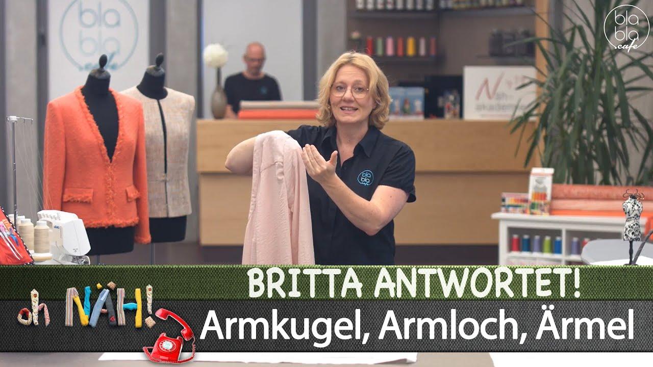 oh NÄH! – Britta antwortet! - Armkugel, Armloch, Ärmel (Aufz. v. 30.06.2020)