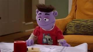 Крэш и Бернштейн - Сезон 1 серия 06 - Один дома… с Крэшем | подростковый Сериал Disney