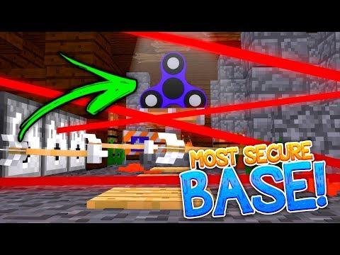 MOST SECURE / SECRET FIDGET SPINNER BASE VS MOST SECURE BASE!