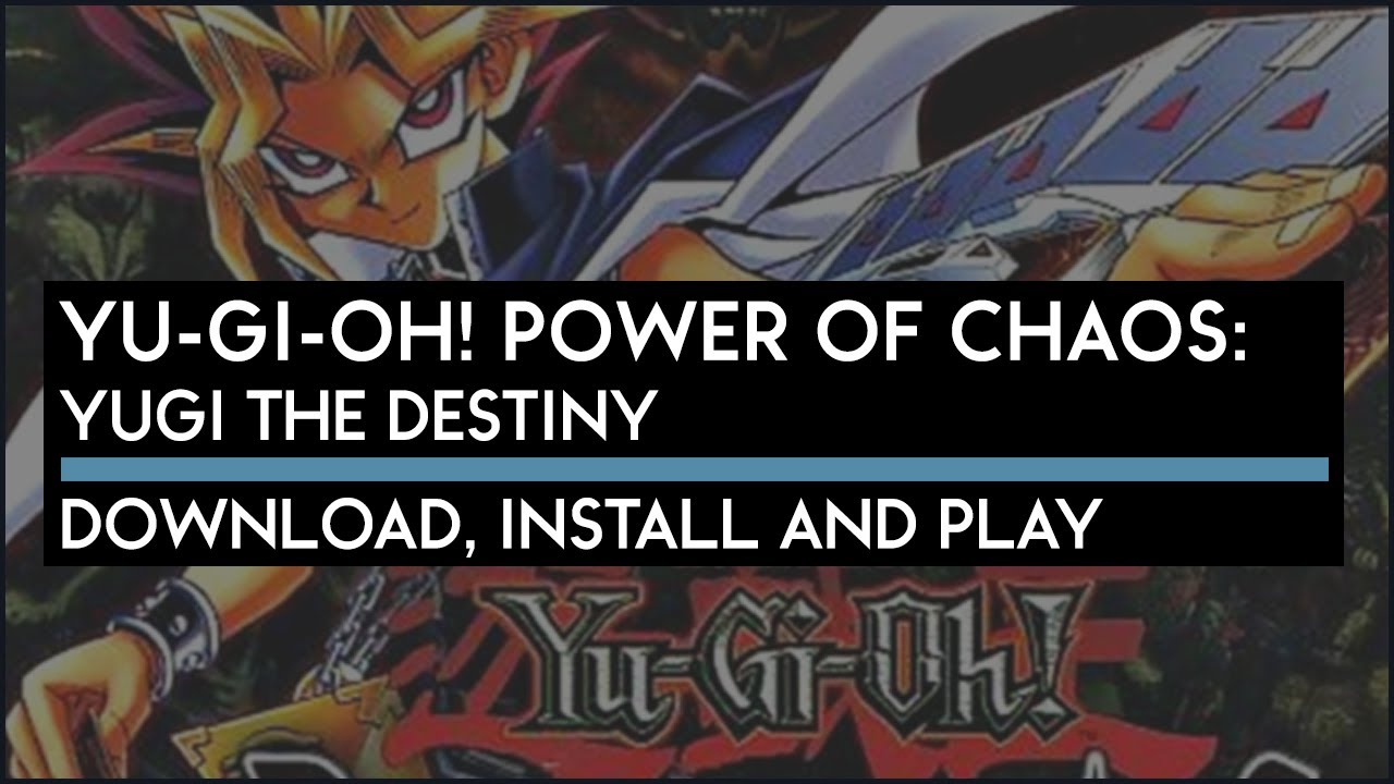 OF CHAOS PASSION YU-GI-OH POWER THE GRATUITEMENT JOEY TÉLÉCHARGER