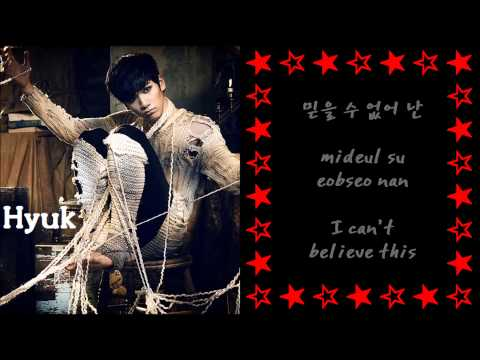 VIXX (빅스) - B.O.D.Y [Color Coded+English Subs+Romanization+Hangul]