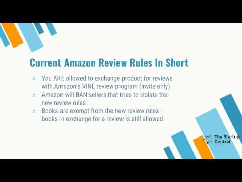Amazon Terms of Service update regarding reviews: How to get LEGAL reviews on Amazon!