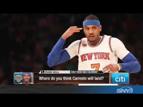 Will the New York Knicks trade Carmelo Anthony?