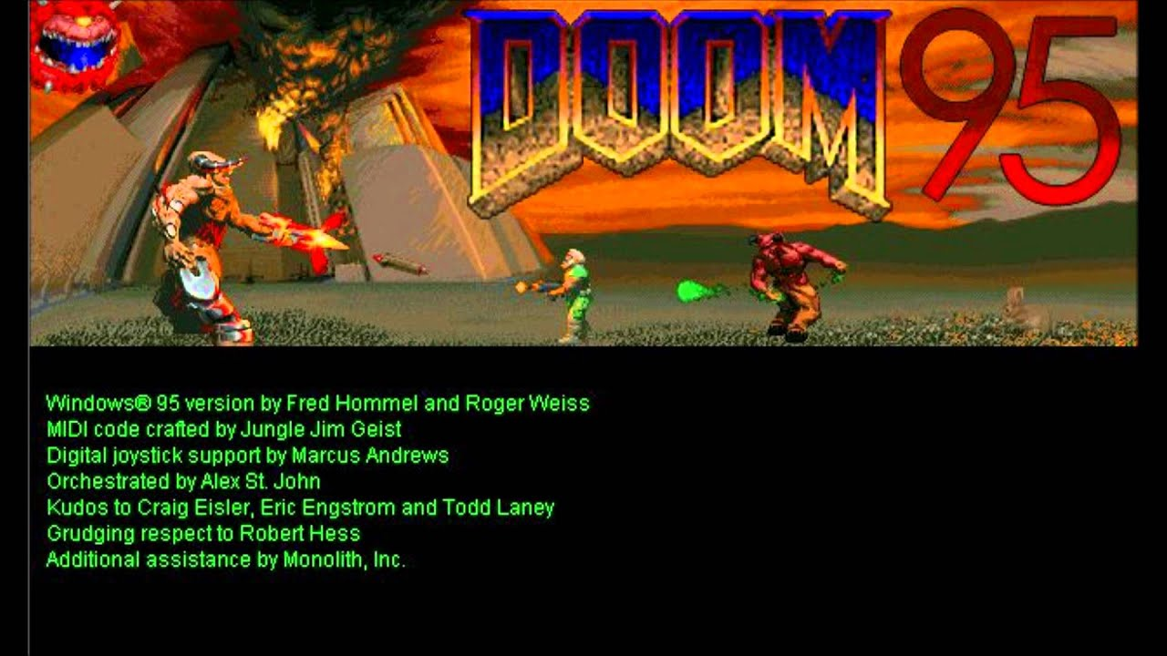 Original Doom Menu Music
