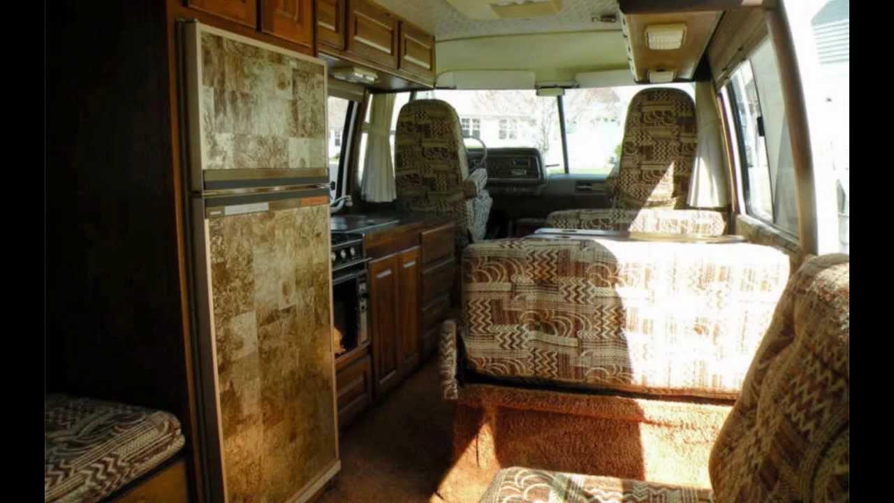 1978 GMC Royale 26' motorhome interior - YouTube