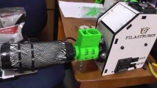 Building the Filastruder v2.0