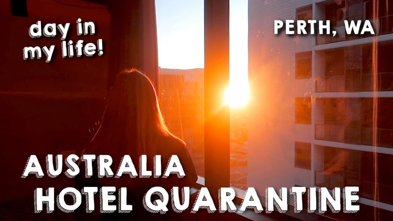 DAY IN MY LIFE IN AUSTRALIA HOTEL QUARANTINE   daily vlog! what is hotel quarantine like in perth??