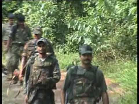 Operation Vidhwans In Rohtas, October, 2008 - Descending Dhansa Valley (Vikas Vaibhav, IPS)