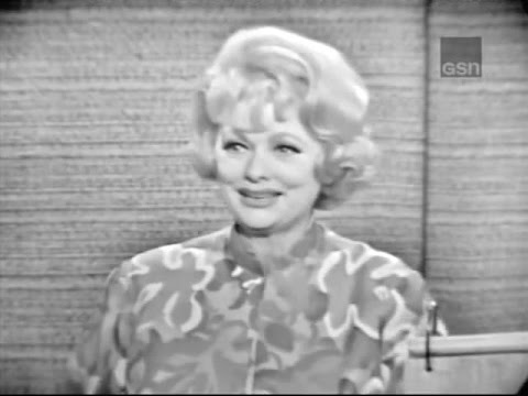 What's My Line? - Carol Channing & Ginger Rogers; Lucille Ball; M Douglas [panel] (Jul 25, 1965)