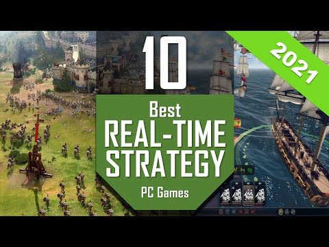 Best RTS Games 2021 | TOP10 Real Time Strategy PC Games thumbnail