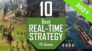 Best RTS Games 2021 | TOP10 Ręal Time Strategy PC Games