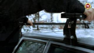 видео Багажник на крышу ВАЗ 2114