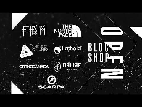 Bloc Shop Open 2017 - Pro Final Round