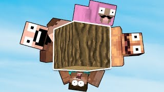 THIS IS THE ONLY BLOCK IN THE ENTIRE WORLD (Minecraft)