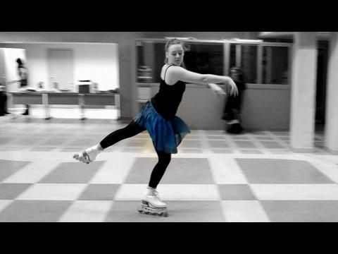 Inline figure skating