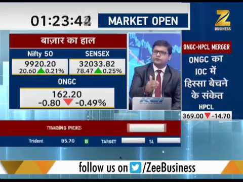 First Trade: ONGC top gainer for today, 10% high, trades at 177