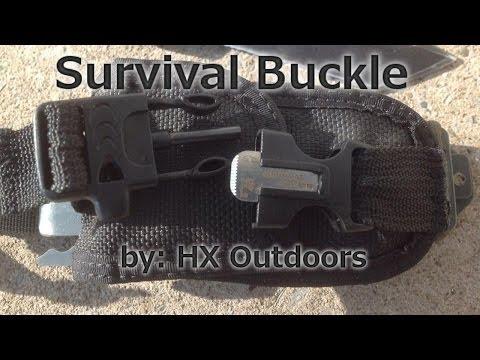 Outdoor Survival Buckle
