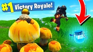 SECRET MUSHROOM TROLLING en Fortnite: Battle Royale!