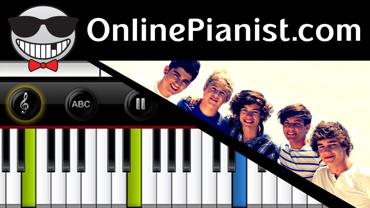 One direction little things piano tutorial youtube hexwebz Images