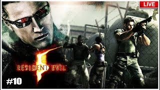 Resident Evil 5 #10 Capitulo 6-3 FINAL