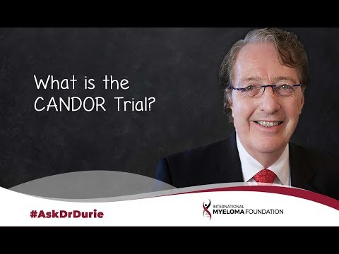 What is the CANDOR trial?