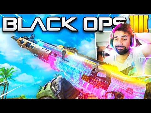 The New PLASMA Camo Gameplay in Black Ops 4..