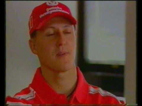 Michael Schumacher Driving Machine. part 1