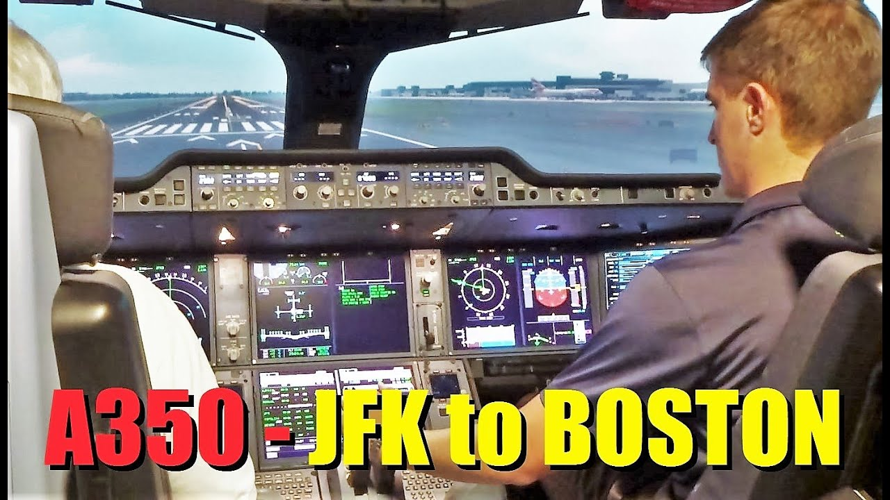 airbus a350 flight from