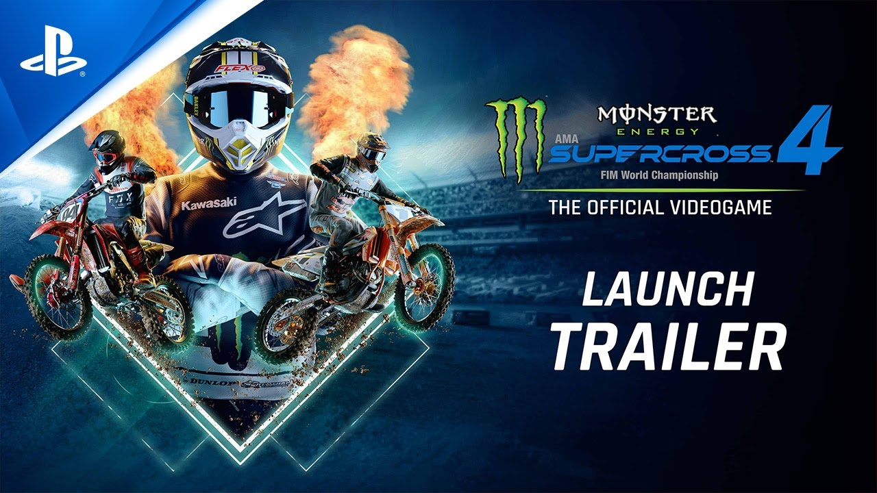 Monster Energy Supercross 4 - Launch Trailer | PS5, PS4