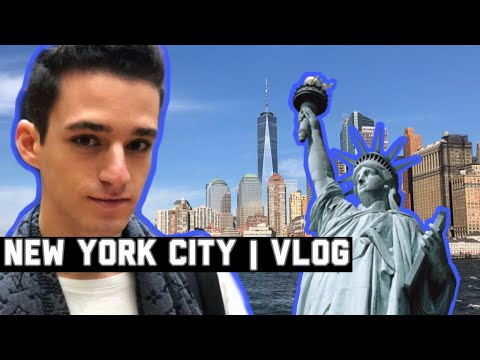 Valerio goes to New York City | MY FIRST VLOG EVER!
