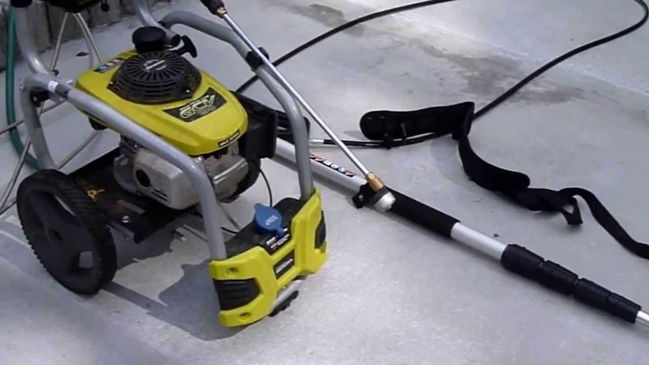 Ryobi Pressure Washer And Other Accessories Review Youtube