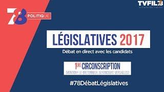 7/8 Politique – Législatives 2017 – Débat de la 1ère circonscription dans les Yvelines