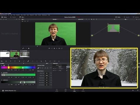 DaVinci Resolve Green Screen